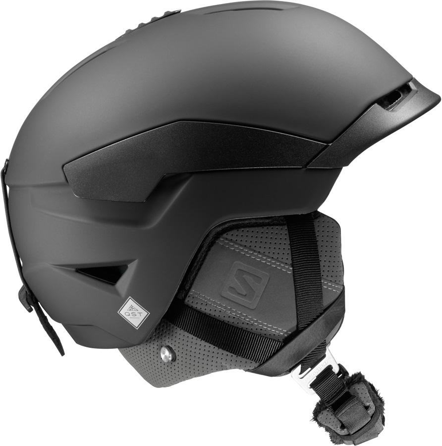 Salomon Quest Snowboard/Ski Helmet, M, Black