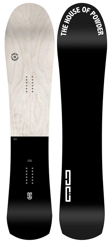 DC HR Hybrid Camber Snowboard, 150cm 2019