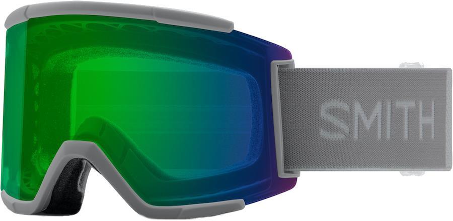 Smith Squad XL CP Everyday Green Snowboard/Ski Goggles, M/L Cloudgrey