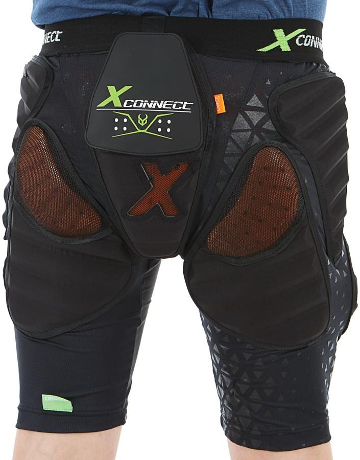 Demon Flex Force XD3O X2 Ski/Snowboard Impact Shorts, S Black