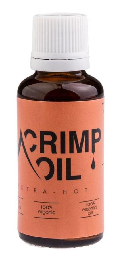 Crimp Oil Extra Hot Massage Oil: 10ml