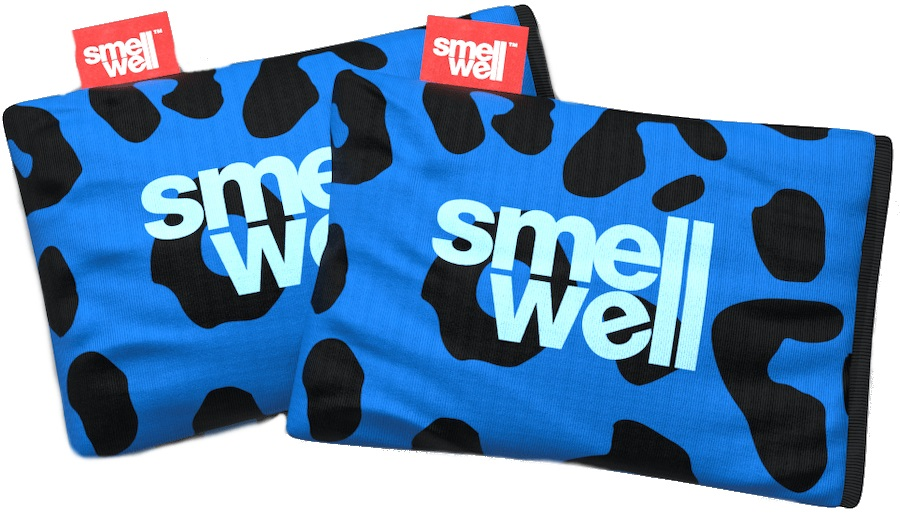 SmellWell Active Freshener Inserts Odour Eliminator, Leopard Blue