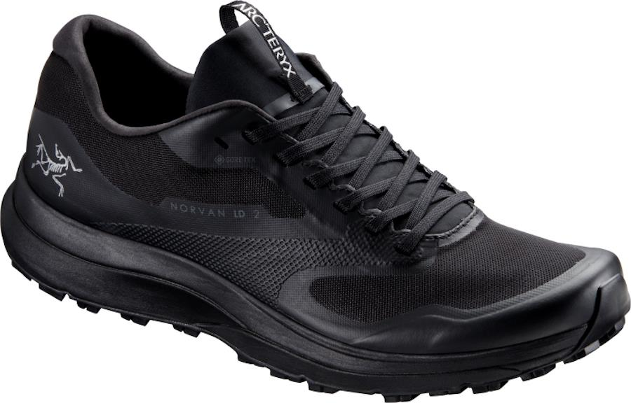 Arcteryx Norvan LD 2 Gore-Tex Running Shoes, UK 11 Black/Black