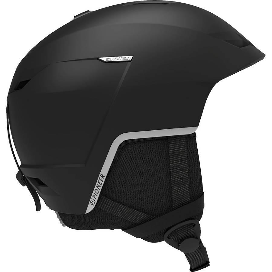 Salomon Pioneer LT Snowboard/Ski Helmet, XL Black/Silver