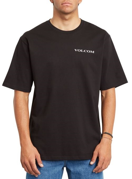 Volcom Stone RLX Short Sleeve T-Shirt, L Black