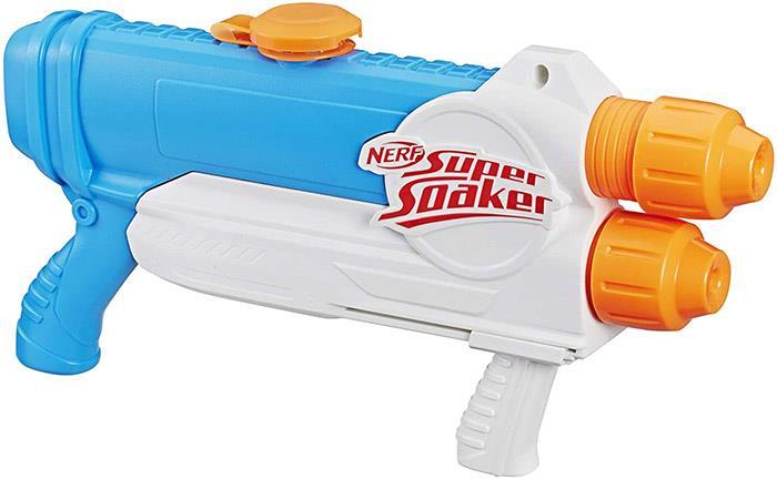 Nerf Barracuda Super Soaker, Water Blaster Pistol, 1L