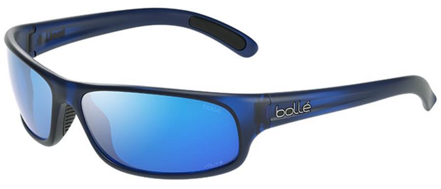 Bolle Anaconda Sunglasses, M Navy Crystal Matte