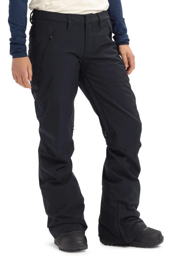 Burton Society Short Womens Snowboard/Ski Pants, M Black