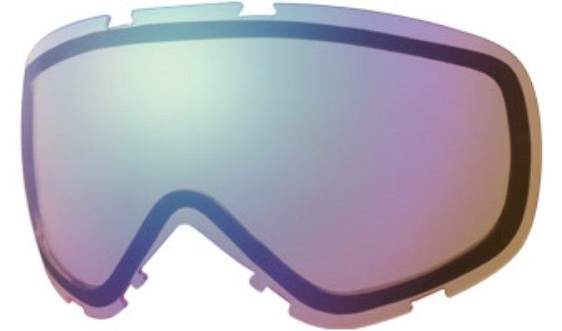 Smith Heiress Snowboard/Ski Goggle Spare Lens, Blue Sensor Mirror