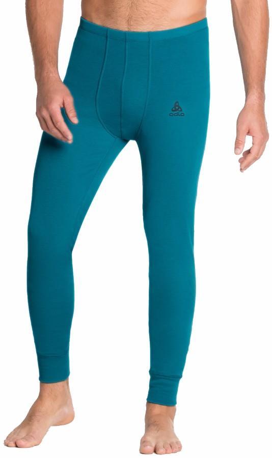 Odlo Active Warm Eco Men's Base Layer Long Pants, M Sea