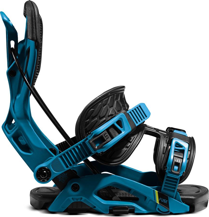 Flow Fuse Fusion Step In Snowboard Bindings, L Blue/Black 2021