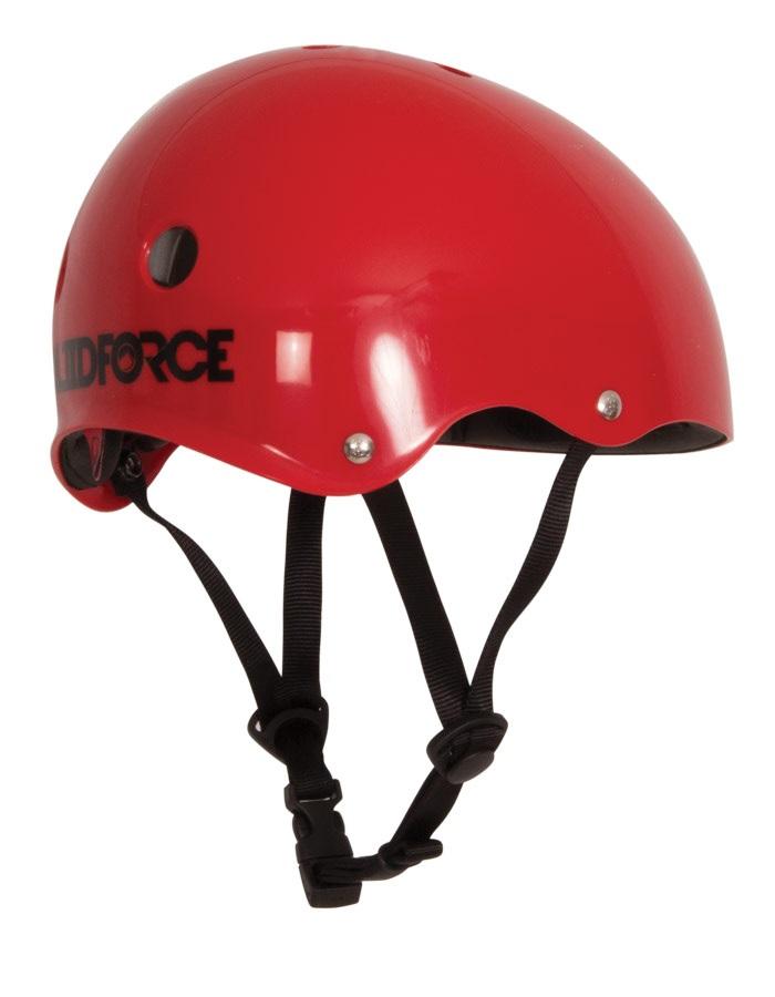Liquid Force Drop Wakeboard Helmet, S/M Red