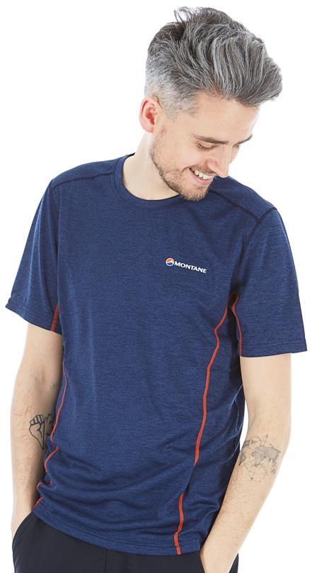 Montane Dart Technical Short Sleeve T-Shirt, L Antarctic Blue