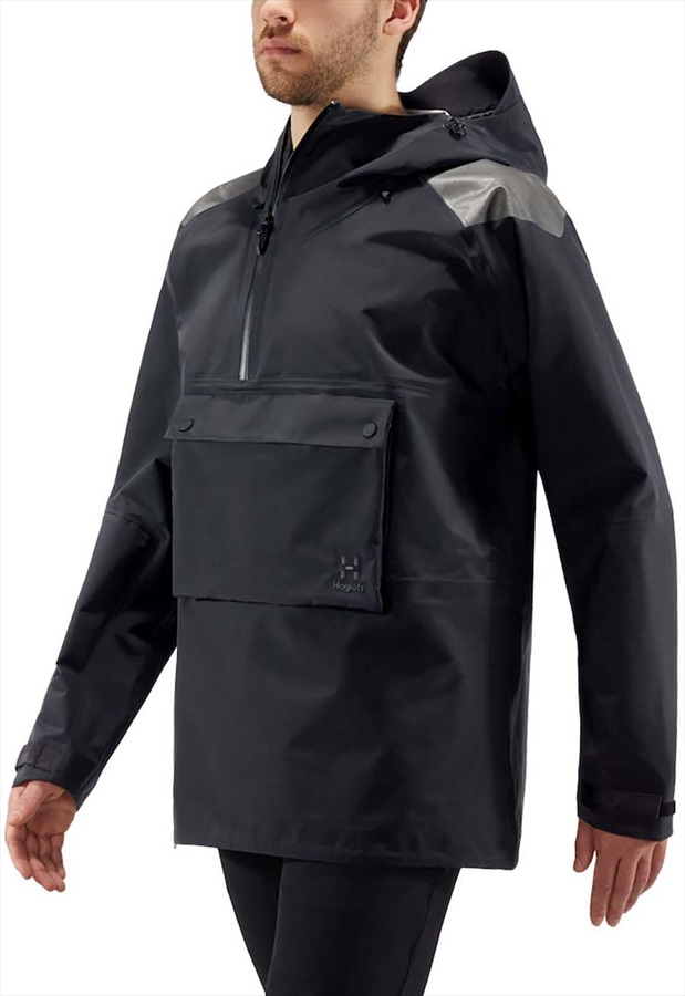 Haglofs Edge Evo Anorak Ski/Snowboard Jacket, M True black