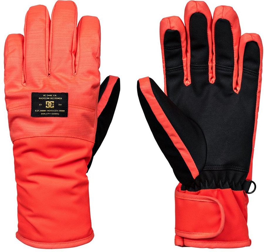 DC Franchise Women's Ski/Snowboard Gloves, L Coral