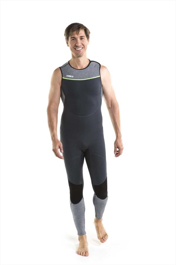 Jobe Toronto 2mm Long John Wetsuit, S Grey 2021