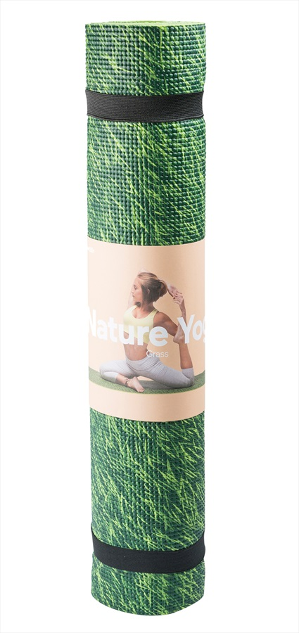 DOIY Printed Yoga/Pilates Mat, 5mm Grass