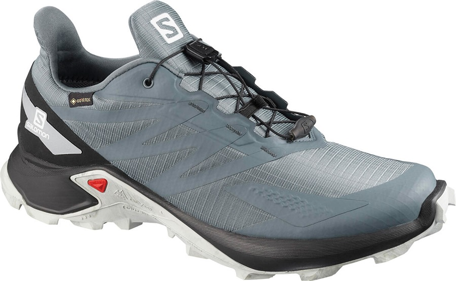 Salomon Supercross Blast GTX Men's Trail Running Shoe, UK 7 Grey