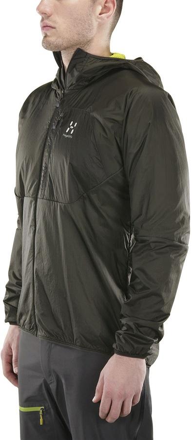 Haglofs Proteus Lightweight Insulated Jacket, S Magnetite