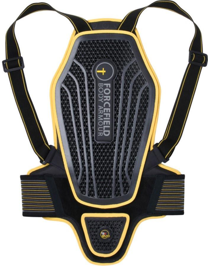 Forcefield Pro L2K Dynamic Back Protector, M Black/Yellow