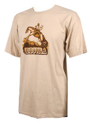 Liquid Force Obscura Cowboy T Shirt L Beige Brown