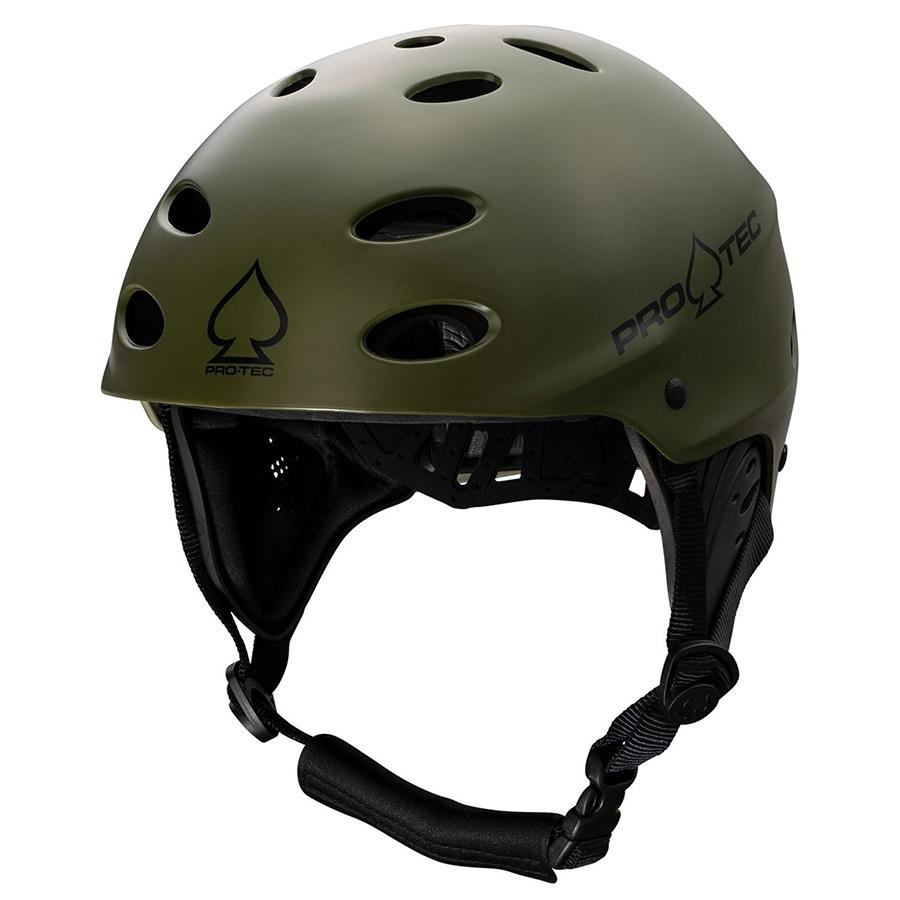 Pro-tec Ace Wake Watersport Helmet, L Matte Olive 2021