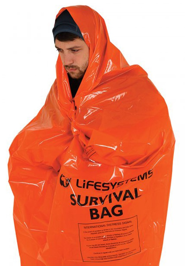 Lifesystems Survival Bag Compact Emergency Blanket, 1-2 Persons