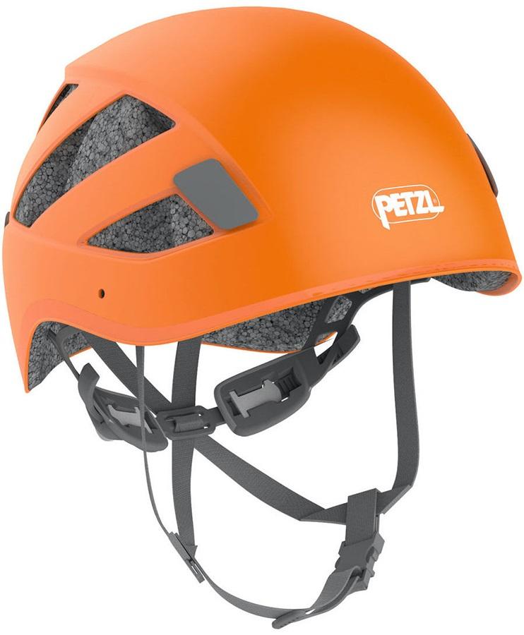 Petzl Adult Unisex Boreo Via Ferrata/Rock Climbing Helmet, S/M Orange