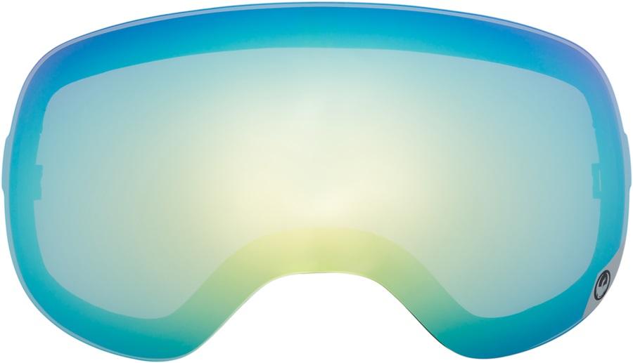 Dragon X1s Snowboard/Ski Goggle Spare Lens, One Size, Smoke Gold