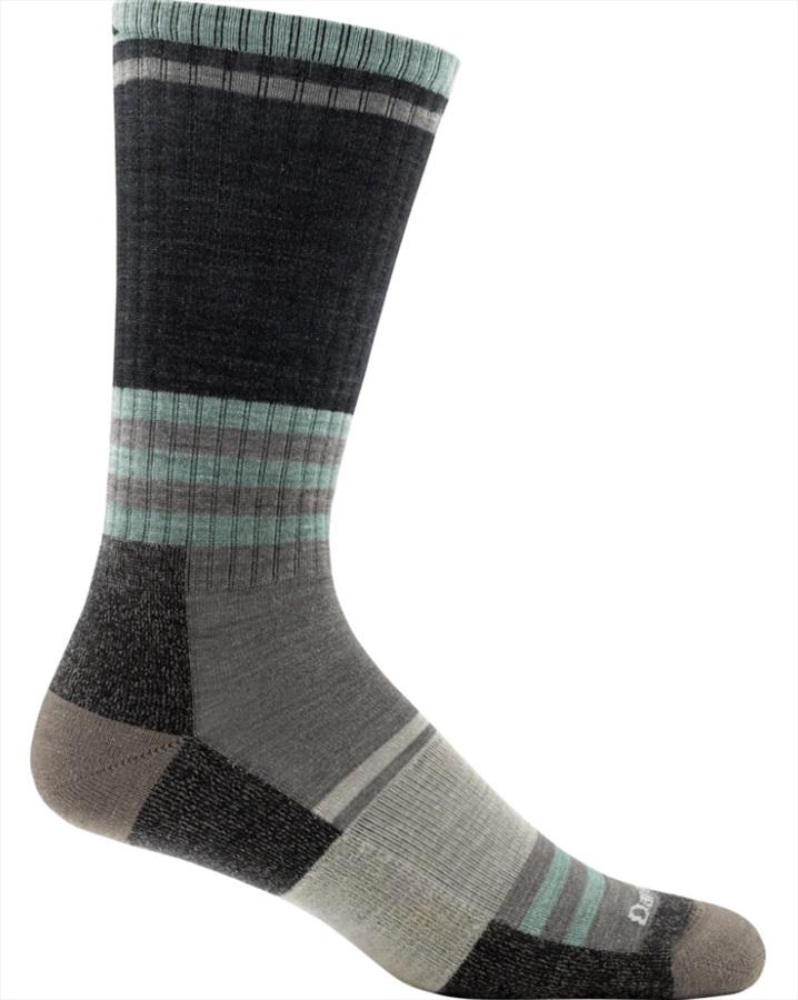 Darn Tough Adult Unisex Spur Boot Light Cushion Hiking Socks, M Charcoal