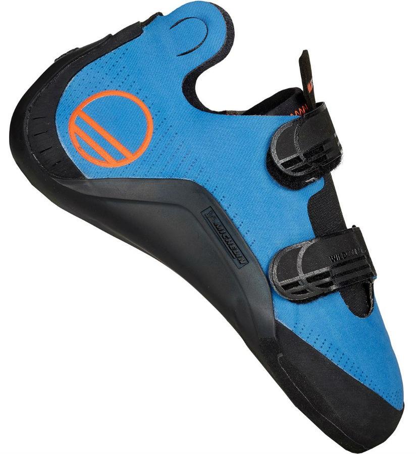 Wild Country Meshuga Rock Climbing Shoe - UK 6.5   EU 40, Blue