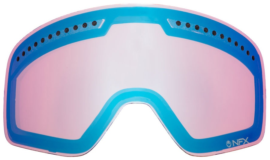 Dragon DXS Snowboard/Ski Goggles Spare Lens, LumaLens Blue Ionized