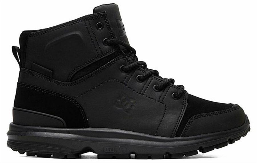 DC Adult Unisex Torstein Men's Winter Boots, Uk 7 Black/Black