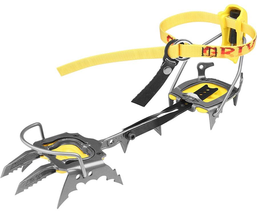Grivel G22 Cramp-O-Matic Mountaineering Crampon UK 5.5-14.5 Yellow