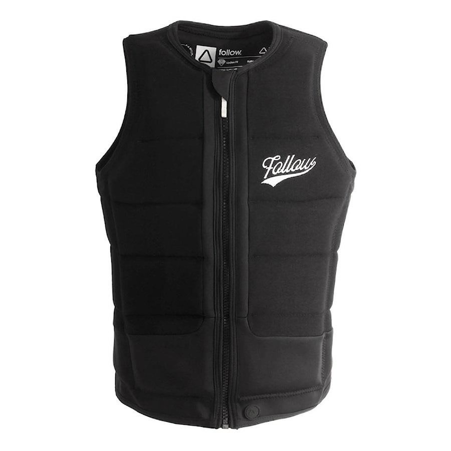 Follow Stow Ladies' Wakeboard Impact Vest, L Black 2020