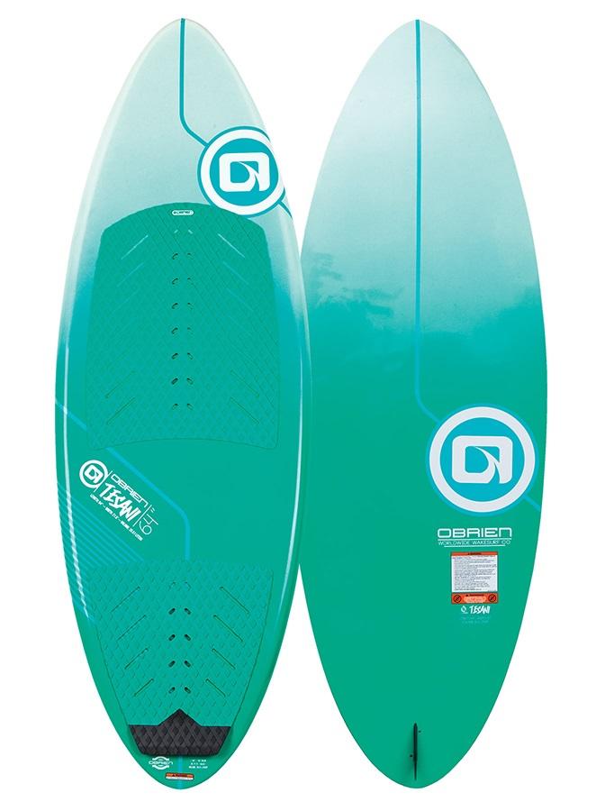 "O'Brien Tesani Skim Style Wakesurfer, 64"" Green"