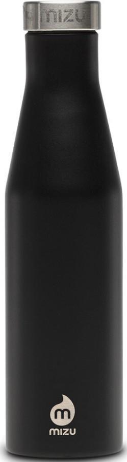 Mizu S6 Stainless Steel Water Bottle, 610ml Enduro Black
