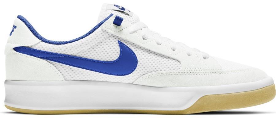 Nike SB Adversary Men's Skate Shoes, Uk 7.5 White/Royal