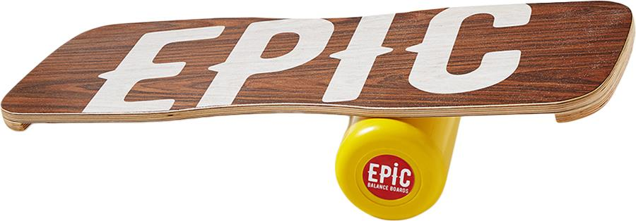 EPIC Balance Boards Wood Core Strength Balance Trainer, Blow