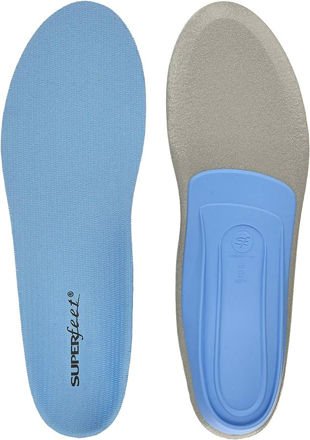 Superfeet Blue Versatile Thin Casual/Walking Shoe Insoles, UK 8-9.5