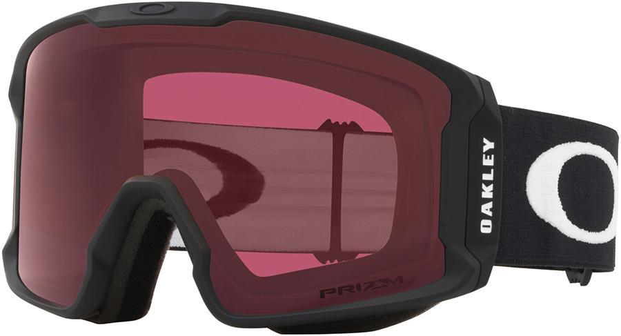 Oakley Line Miner L Prizm Dark Grey Snowboard/Ski Goggles, L Black