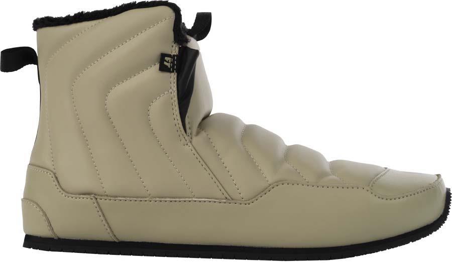Full Tilt Apres Bootie 1.0 Insulated Winter Slippers UK 10 -11.5 Sand