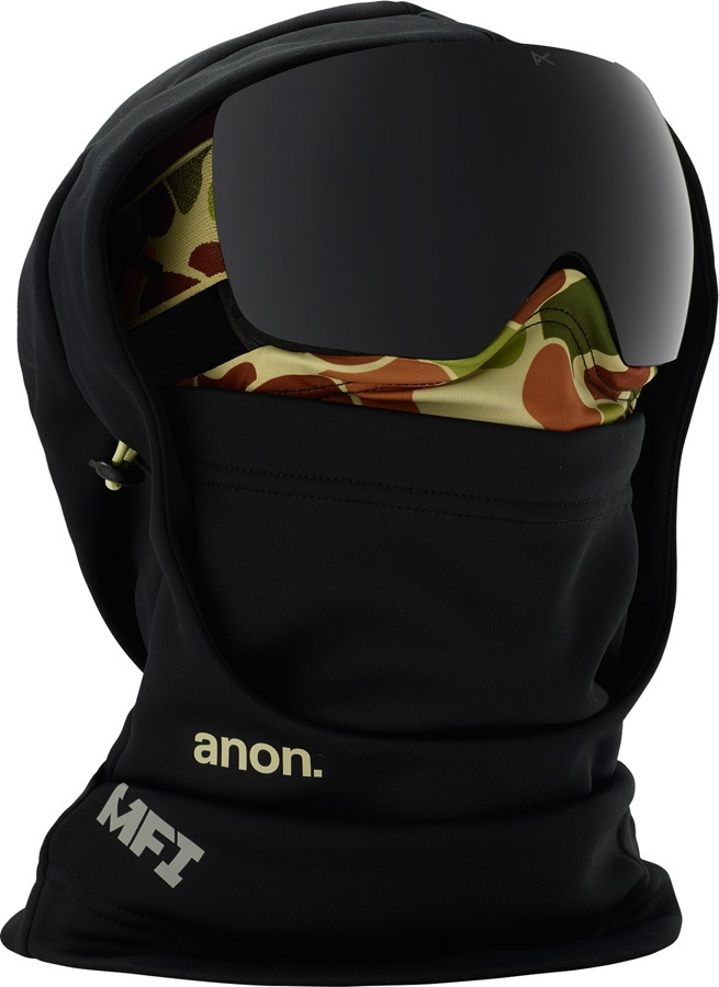 Anon Hooded Balaclava Anon MFI Only MFI Facemask, Duck Camo