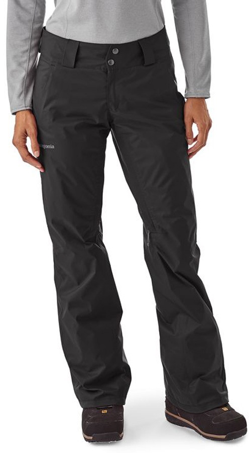 Patagonia Insulated Snowbelle Women's Ski Pants - S - Reg, Black