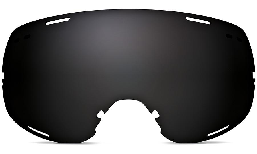 Zeal Voyager Snowboard/Ski Goggle Spare Lens, Dark Grey Polarized