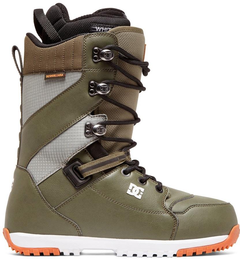 DC Mutiny Snowboard Boots, UK 12 Olive