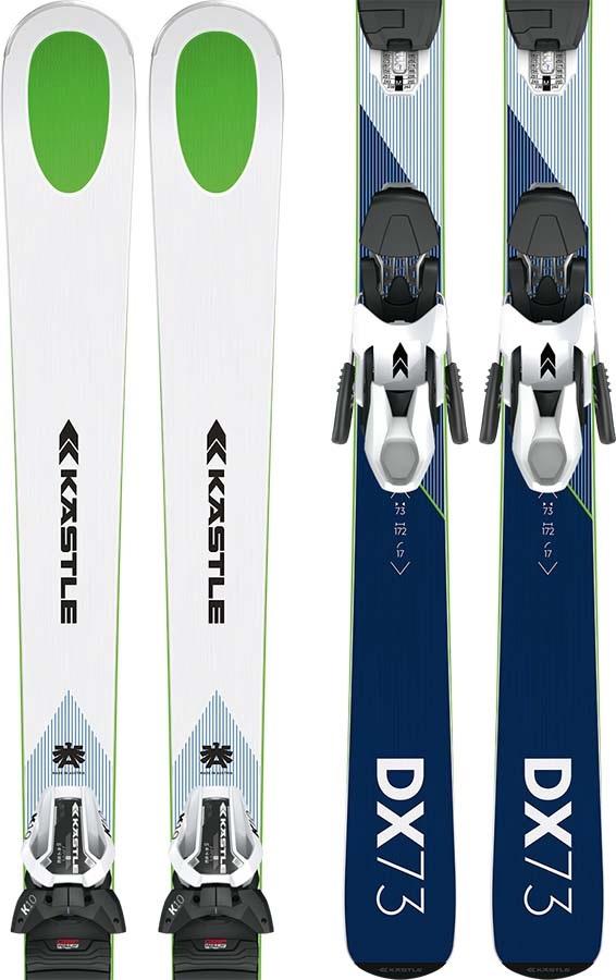 Kastle DX 73 + Phantom 2.0 Skis, 164cm Blue/White 2020