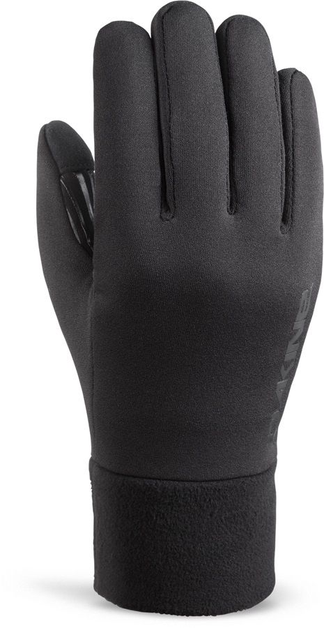 Dakine Storm Stretch Fleece Snowboard/Ski Liner Gloves XS Black