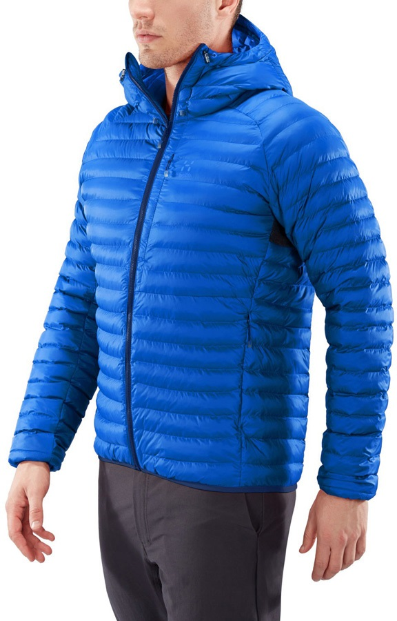 Haglofs Essens Mimic Hood Insulated Jacket, S Cobalt Blue/Tarn Blue