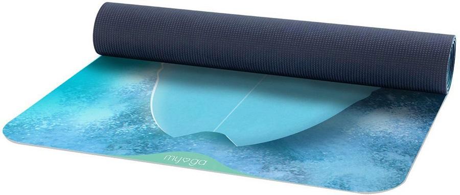 Myga Jordia Pro Printed Yoga/Pilates Mat, 6mm Surfboard
